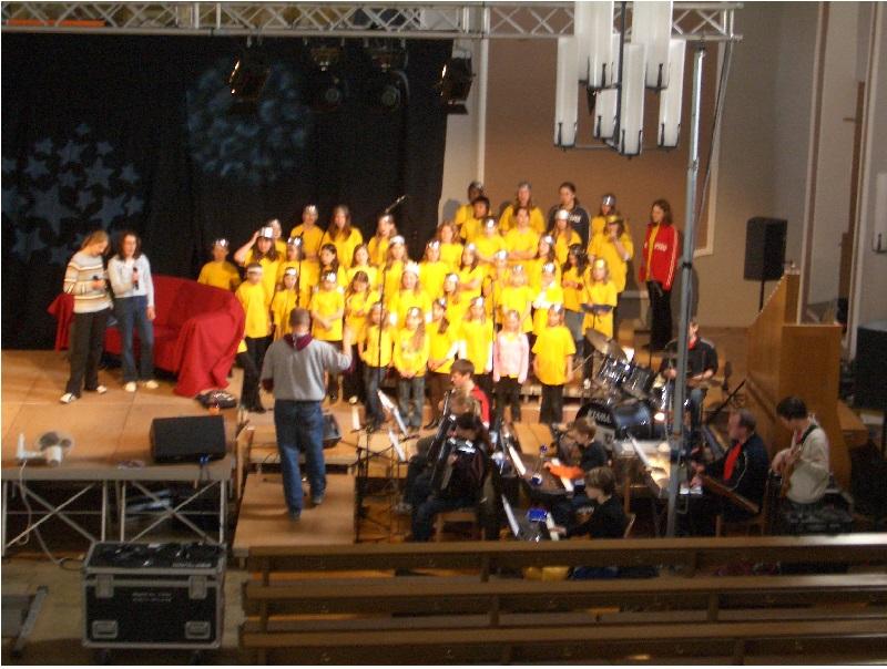 Kinderchor Regenbogenchor 2005